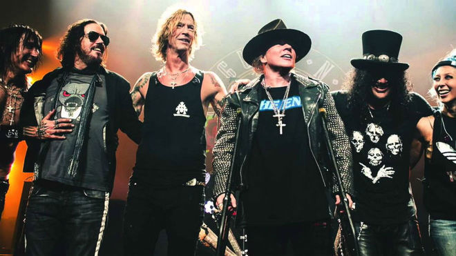 Así luce Guns N' Roses en la gira 'Not in this lifetime', iniciada en...