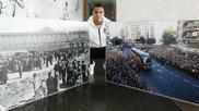 Rodrigo posa en la ciudad deportiva de Paterna.