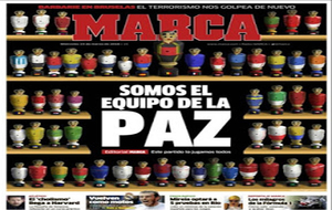Cover of March 23: We are the peace team
