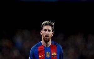 Leo Messi durante el último partido de Champions contra el Borussia...