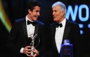 Márquez, con Agostini.