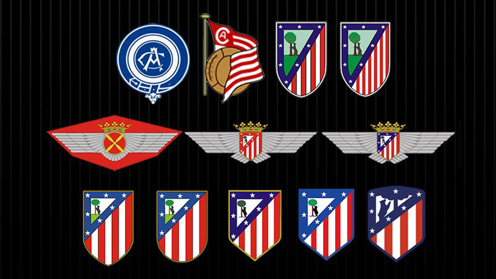 A Look At How The Atletico Madrid Badge Has Evolved Over