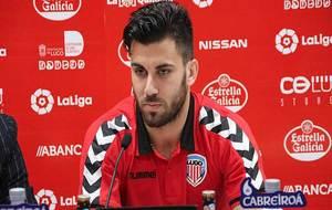 Fede Vico, durante su presentación de este viernes como nuevo jugador...