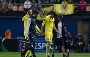 Musacchio se marcha lesionado en el encuentro de Europa League