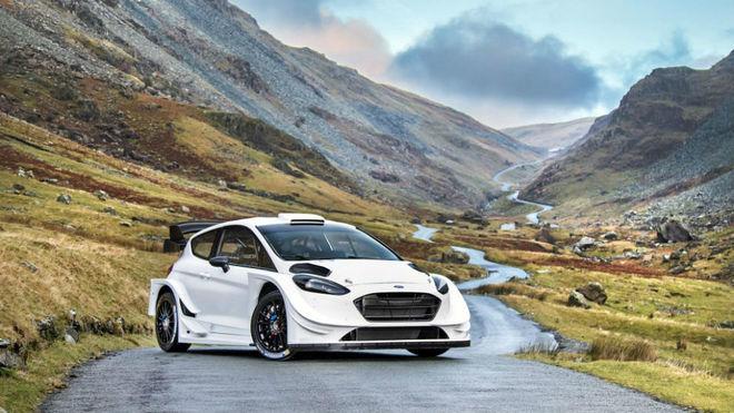 El nuevo Ford Fiesta WRC.