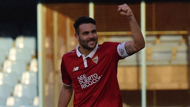 Iborra lidera al Sevilla con un hat-trick de Fantasía