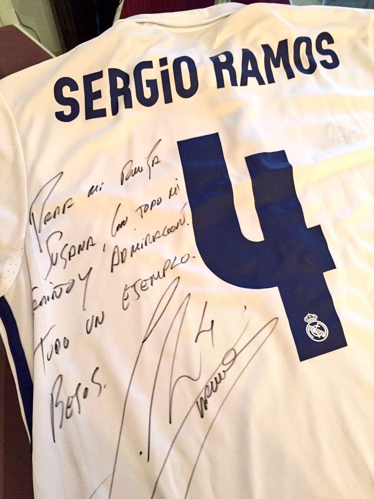 La dedicatoria de Ramos para Susana Rodríguez