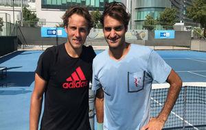 Pouille, al lado de Federer