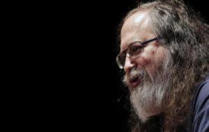 Richard Stallman, fundador del movimiento de software libre.