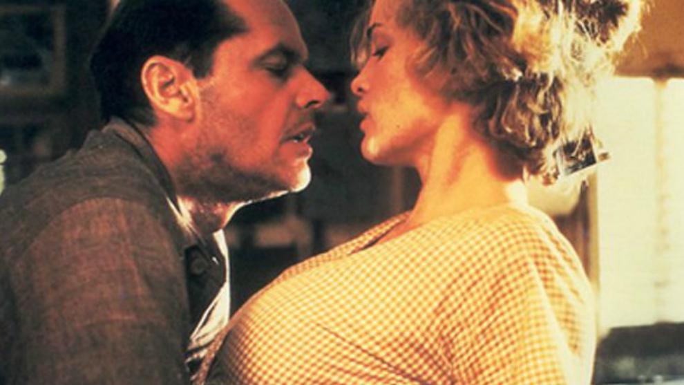 Jack Nicholson y Jessica Lange en El cartero siempre llama dos veces