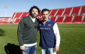 Iván Campo y Javier Olaizola juntos de nuevo con el Mallorca de por...