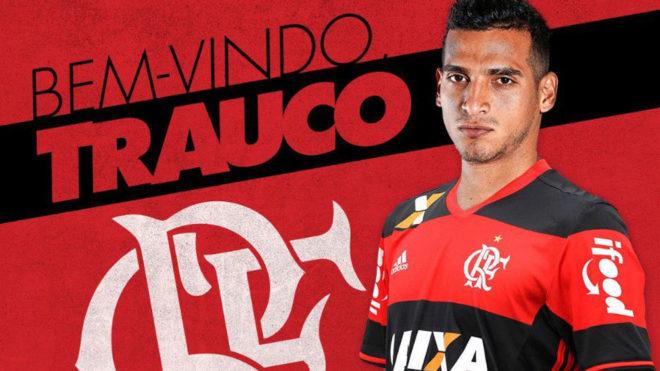 Así dio la bienvenida el Flamengo a Trauco en las redes sociales