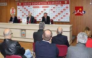 El presidente Alfonso García durante la Junta General de Accionistas