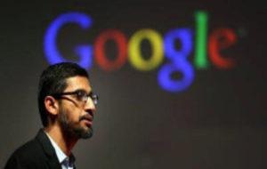 l consejero delegado de Google, Sundar Pichai