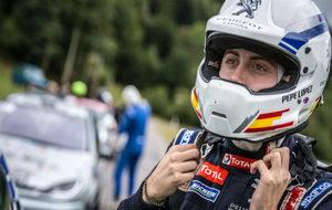 El piloto de Peugeot Pepe López.