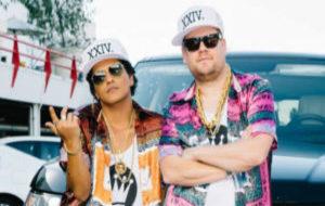 Bruno Mars y James Corden