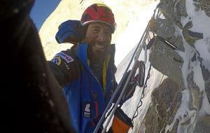 Alex Txikon, en el Nanga Parbat.