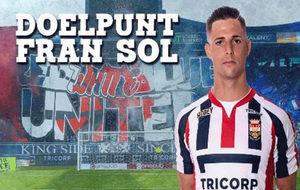 Así celebró el Willem II en Twitter los goles de Fran Sol