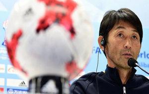 Masatada Ishii, en rueda de prensa.