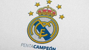 La imagen del Real Madrid pentacampeón del mundo
