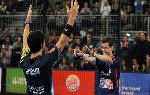 Paquito y Sanyo celebran su victoria
