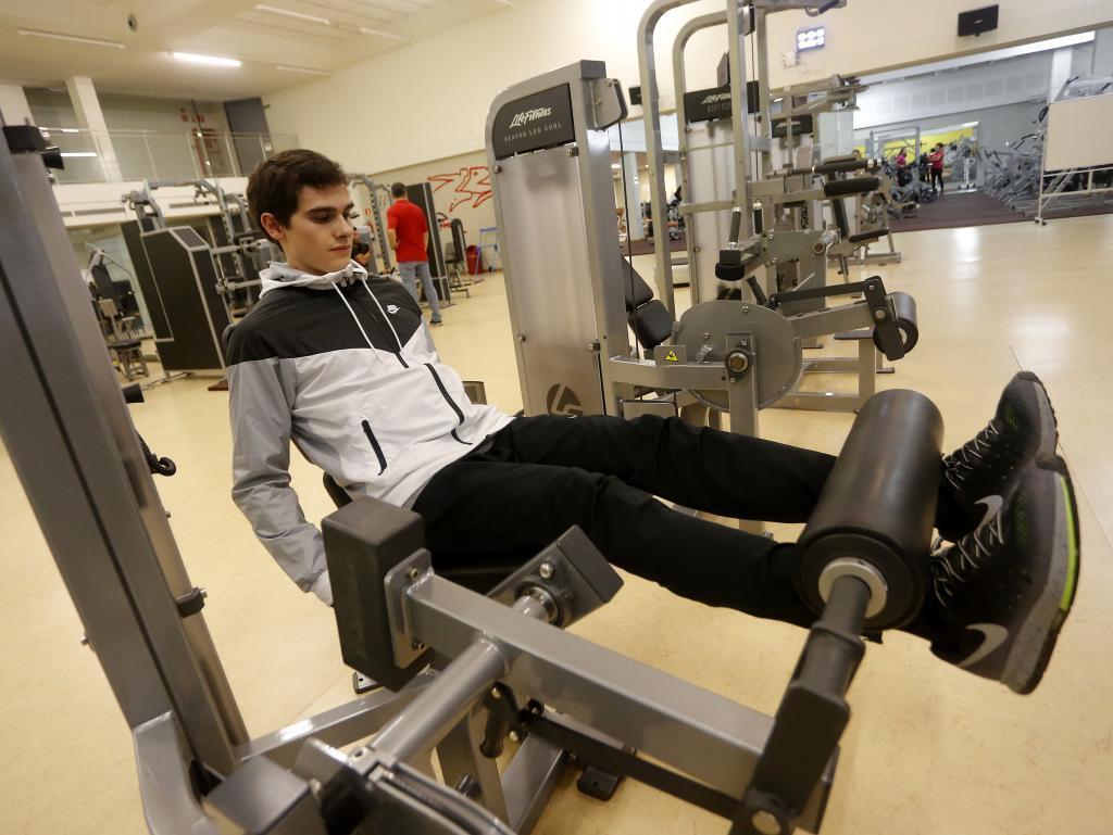 Diario de la recuperaci n de bruno hortelano for En el gimnasio