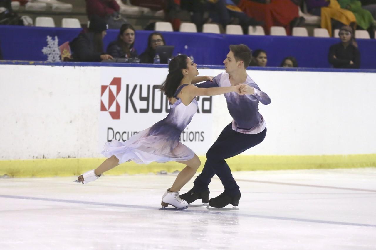 Sara Hurtado y Kiril Khaliavin, en acción.