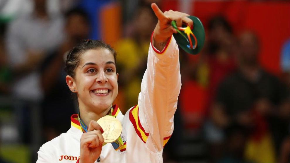 Carolina Marín bautizará al Palacio de Deportes de Huelva