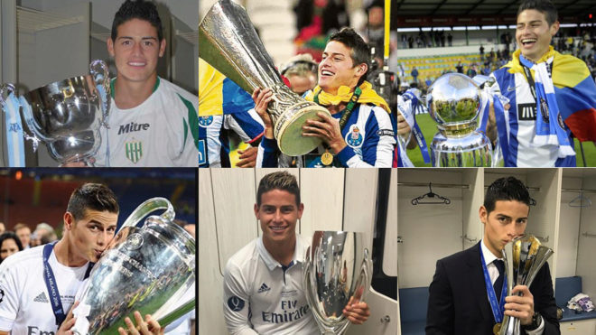 bb2261f6d4a James Rodriguez's 15 titles | MARCA in English