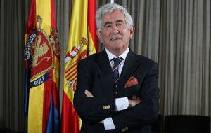 Gonzaga Escauriaza, presidente de la Federación Española de Golf.