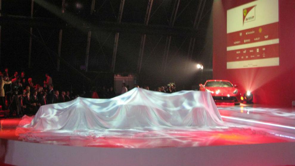 Una de las últimas presentaciones de Ferrari