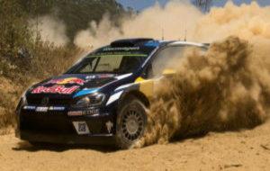 Andreas Mikkelsen durante el Rally de Australia