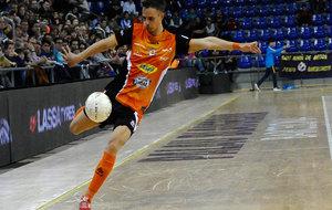 David García, en una acción durante un partido
