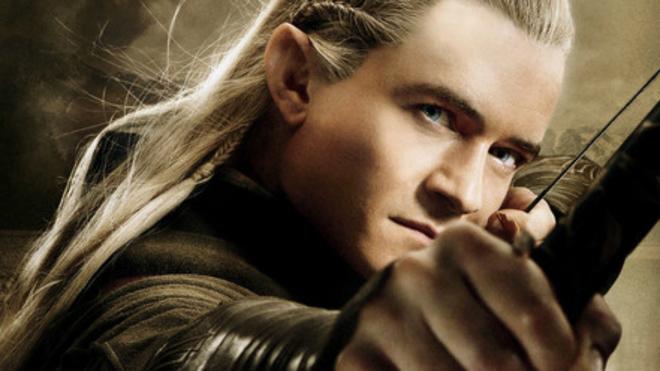 Orlando Bloom interpreta a Legolas en 'El Señor de los Anillos'