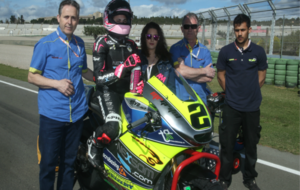 Ana Carrasco, en el Europeo de Moto2.