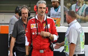 Maurizio Arrivabene, director deportivo de Ferrari