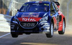 Sebastién Loeb, quinto clasificado en el Mundial de Rallycross 2015