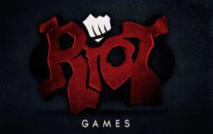 Logo de Riot Games.