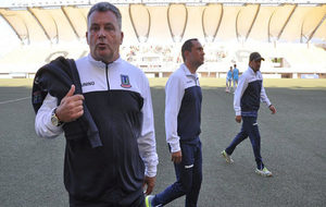 Grondona, en su etapa como técnico de Unión La Calera.