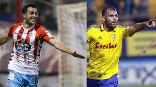 Joselu (Lugo) y Ortuño (Cádiz) mantienen una igualada pugna por el...