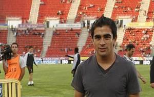 Ariel Ibagaza, en el Iberostar Estadi hace seis años
