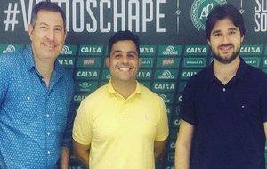 Rafael Henzel, Fernando Mattos y Renan Agnolin.