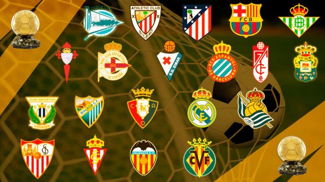 Liga Santander: Los 20 Balones de Oro de Primera | Marca.com