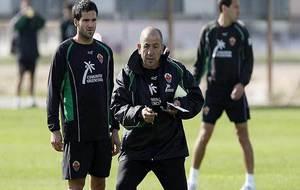 Fernando Usero y Claudio Barragán, en la etapa que coincidieron en el...