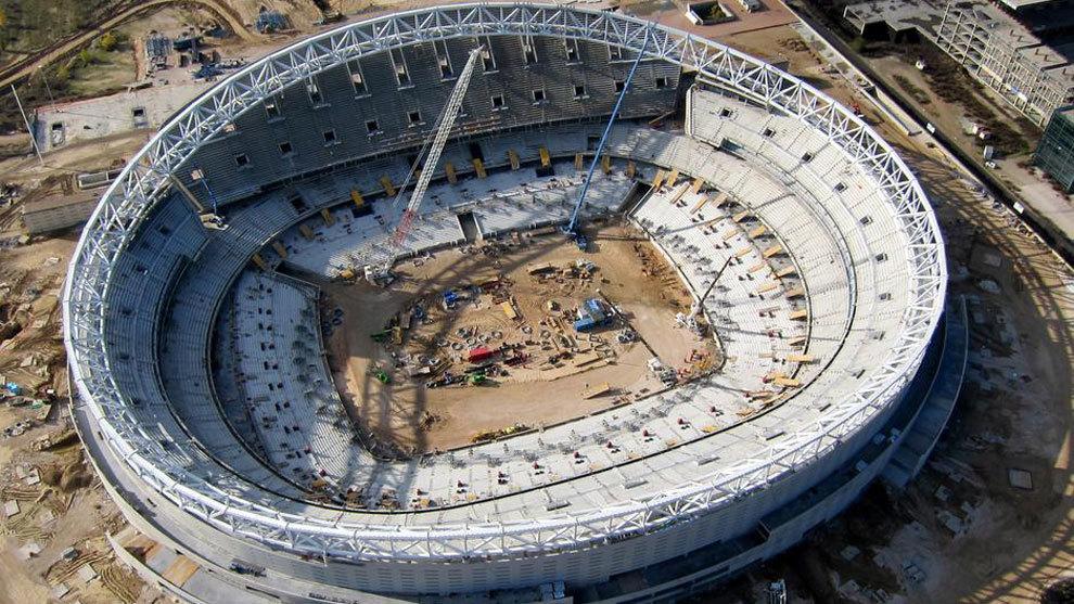 good news for wanda metropolitano construction