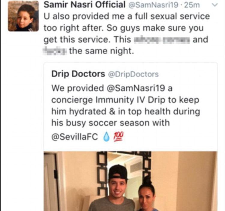 Τα επίμαχα tweets για το… sexual service και η διευκρινίσεις για το  χακάρισμα  f0e1fe0bf49
