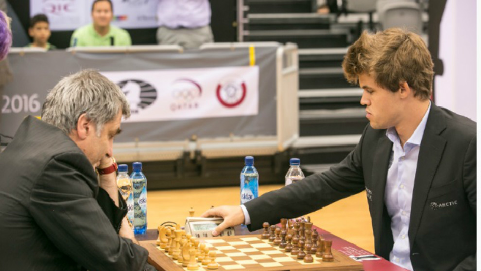 Ivanchuk frente a Carlsen