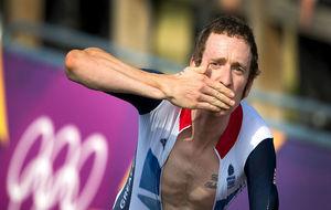 Bradley Wiggins en 2012, pocos días después de ganar el Tour de...