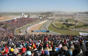 Vista aérea del circuito de Jerez.
