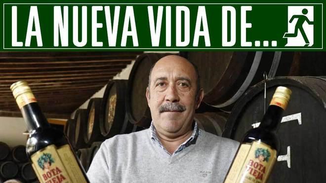 Carmelo Navarro, en sus bodegas de El Puerto de Santa María
